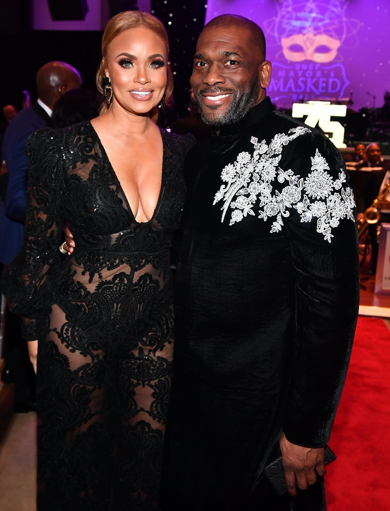 Are Gizelle & Jamal Bryant From 'Real Housewives of Potomac' Still Together? Photo via Paras Griffin...