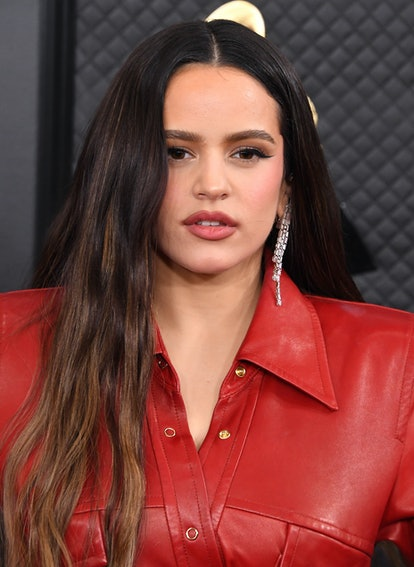 LOS ANGELES, CALIFORNIA - JANUARY 26: Rosalía arrives at the 62nd Annual GRAMMY Awards at Staples Center on January 26, 2020 in Los Angeles, California. (Photo by Steve Granitz/WireImage)