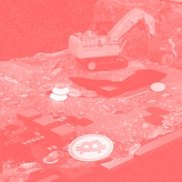 Watch 1,000 Bitcoin rigs get crushed by a steamroller
