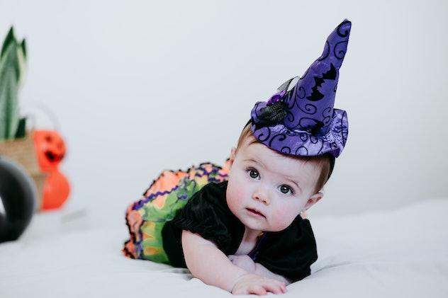 Agatha is one Halloween name choice for babies.