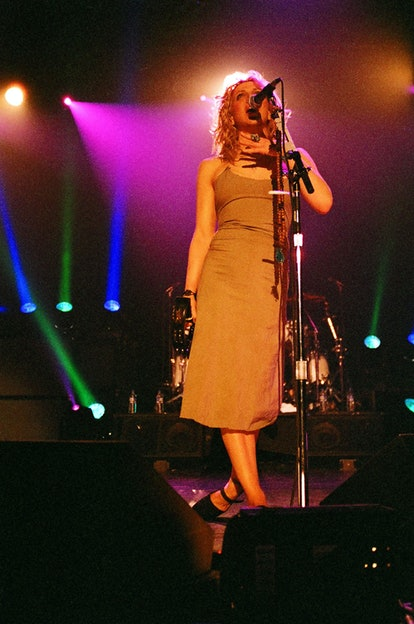 Courtney Love of Hole during Hole Concert '99 at The Palace in Los Angeles, California, United State...