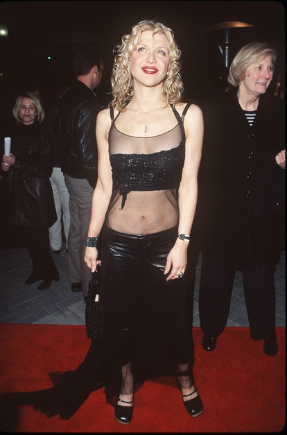 """Courtney Love during """"200 Cigarettes"""" Los Angeles Premiere at Paramount Studios in Los Angeles, Cali..."""