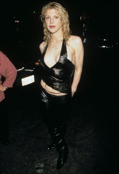 Courtney Love during 1998 MTV Video Music Awards at Universal Amphitheatre in Universal City, Califo...