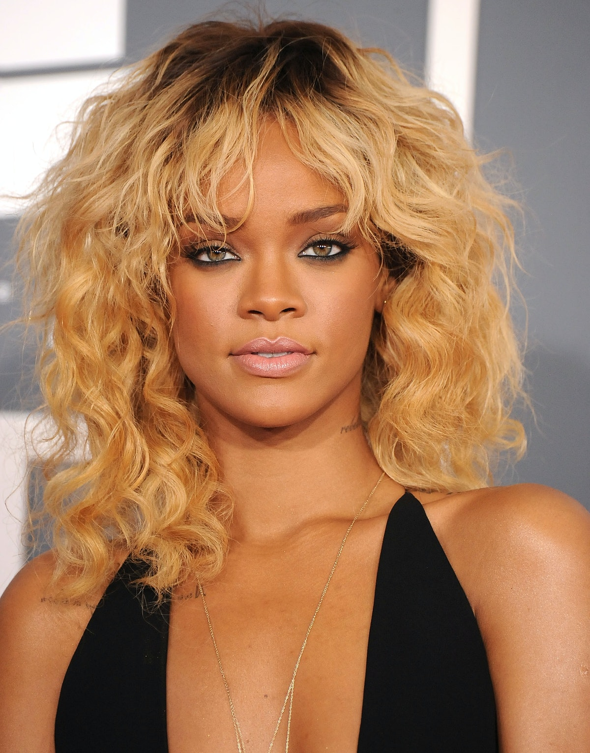 Rihanna at The 54th Annual GRAMMY Awards