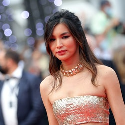 """CANNES, FRANCE - JULY 16: Gemma Chan attends the """"Les Intranquilles (The Restless)"""" screening during the 74th annual Cannes Film Festival on July 16, 2021 in Cannes, France. (Photo by Vittorio Zunino Celotto/Getty Images for Kering)"""