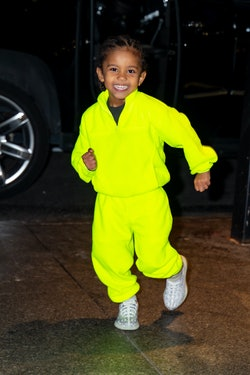 NEW YORK, NEW YORK - DECEMBER 21: Saint West is seen in Midtown on December 21, 2019 in New York City. (Photo by TheStewartofNY/GC Images)