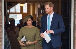 Meghan Markle and Prince Harry could be making christening plans.