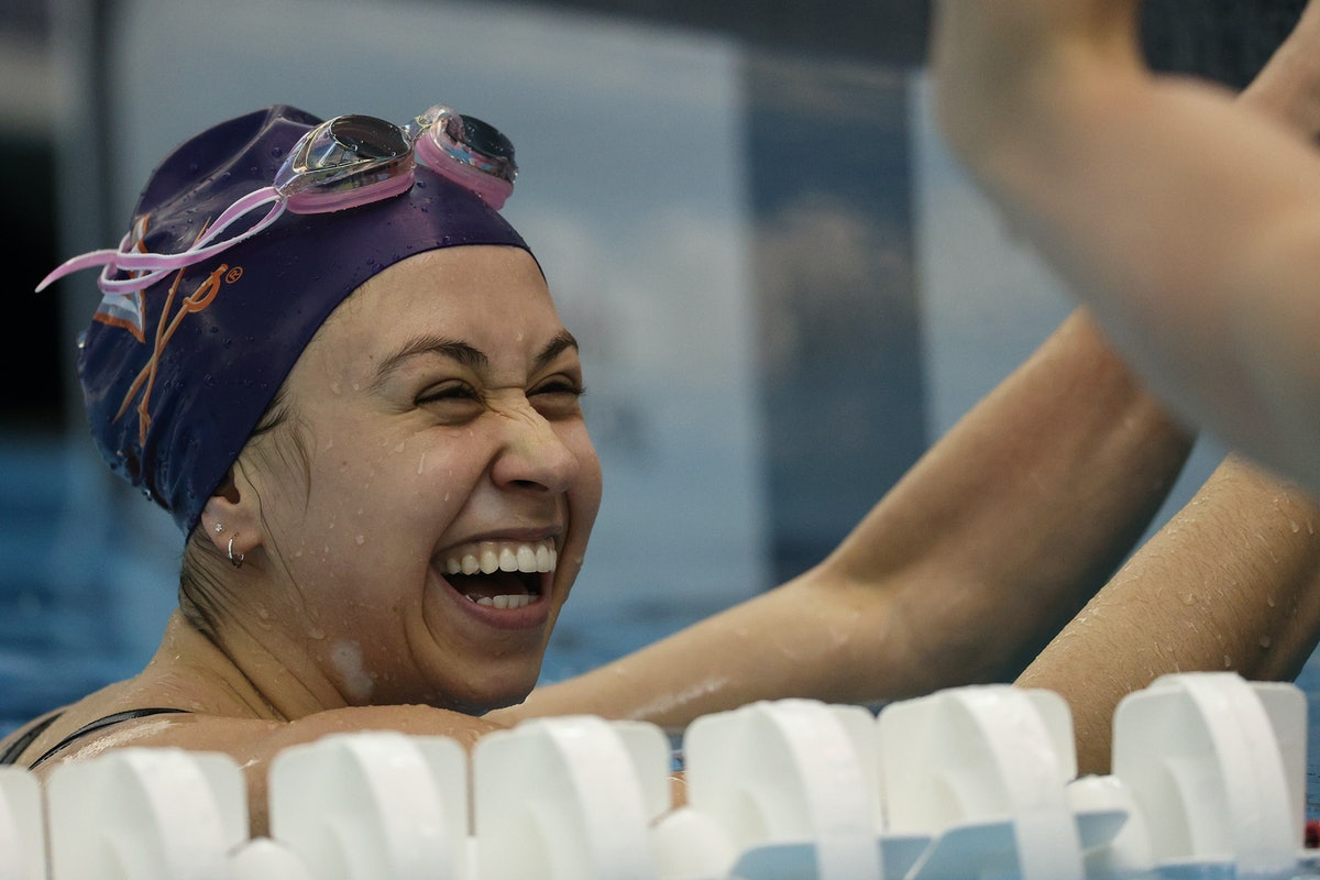 Catie DeLoof is on the 2021 U.S. Olympic Swim Team