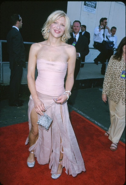 Courtney Love during 5th Annual Blockbuster Entertainment Awards at Shrine Auditorium in Los Angeles...