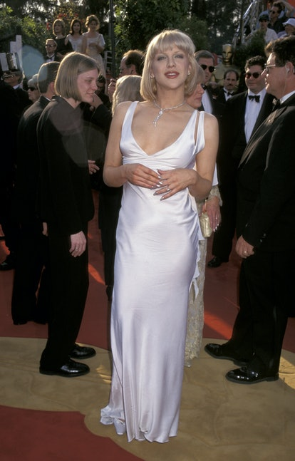 Courtney Love during The 69th Annual Academy Awards - Arrivals at Shrine Auditorium in Los Angeles, ...