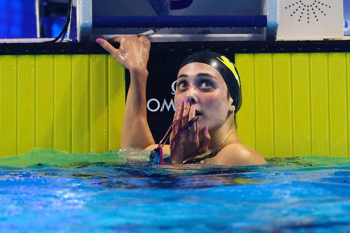 Emma Weyant is on the 2021 U.S. Olympic Swim Team