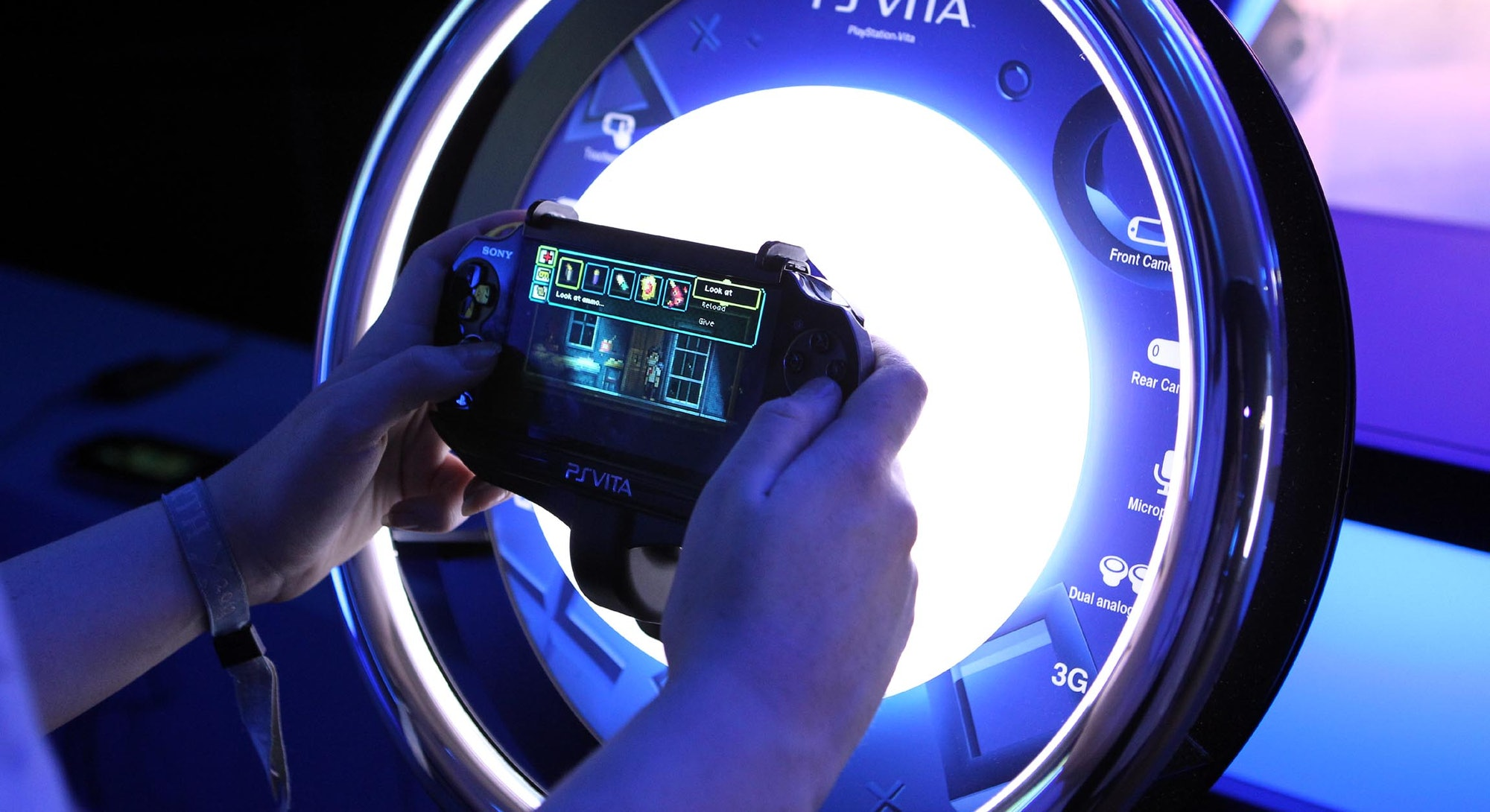 PlayStation offer a hands on showcase for their PS VITA, PS3 and PS4 titles at the PlayStation summe...