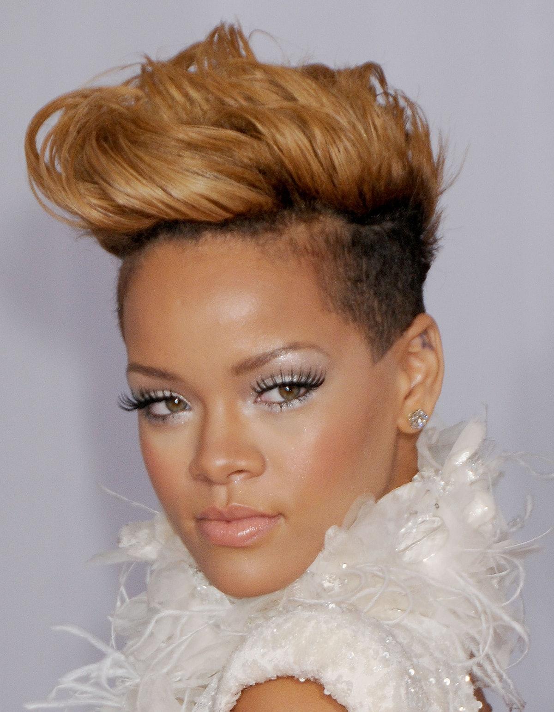 Rihanna hair evolution