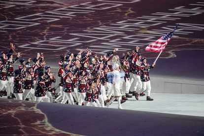 Team USA proudly represents the country at the Sochi 2014 Winter Olympic Games.