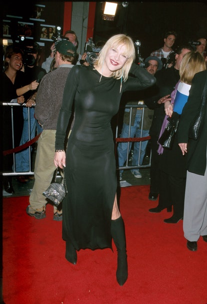 """Courtney Love during """"Man on the Moon"""" - Hollywood Premiere at Mann Chinese Theatre in Hollywood, Ca..."""