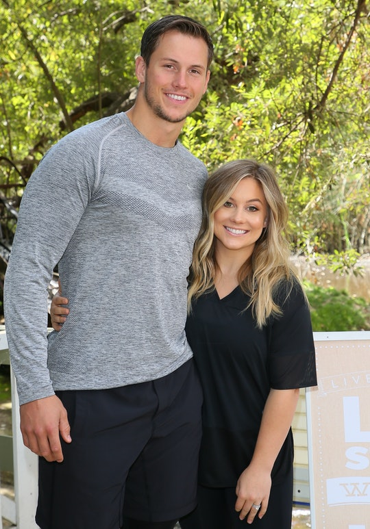 MALIBU, CA - SEPTEMBER 21: Olympic Gold Medalist Shawn Johnson and Andrew East co-host the Everyday ...