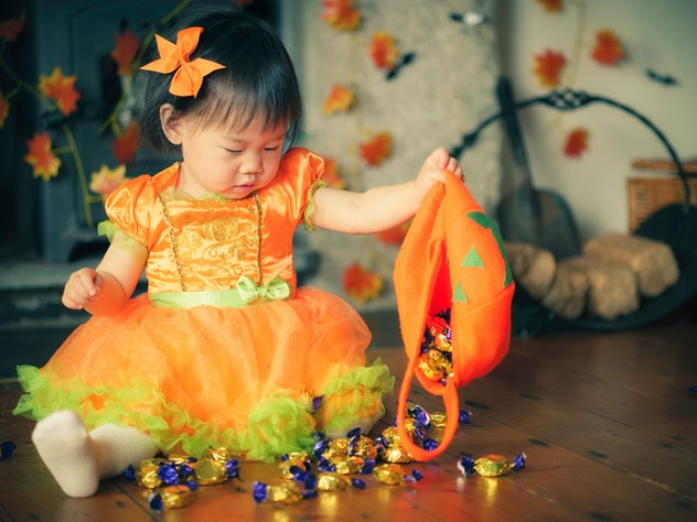 Candy is one Halloween-inspired name for babies.