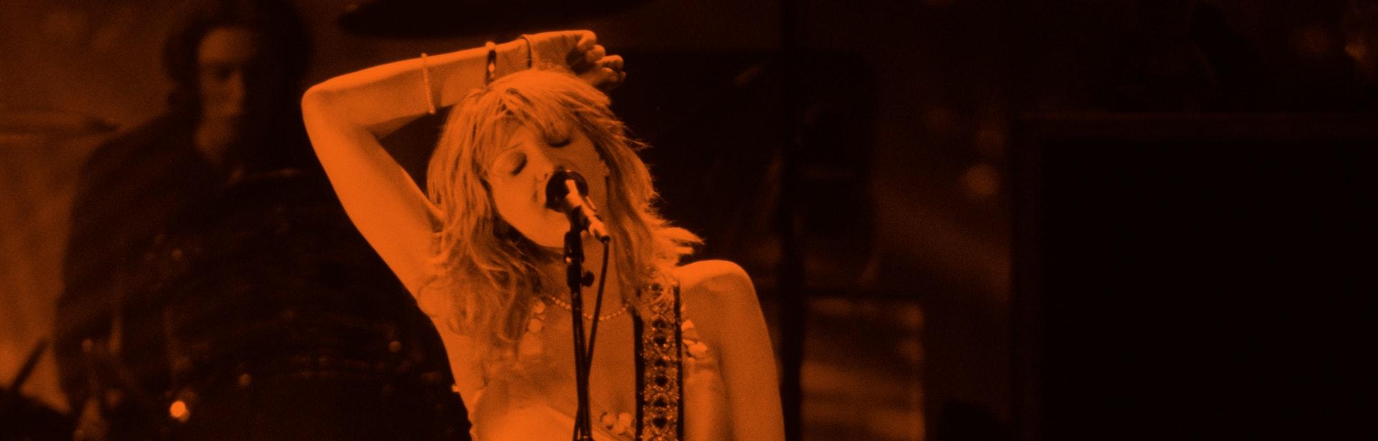 Courtney Love (Photo by Ke.Mazur/WireImage)