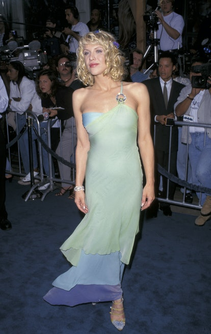 """Courtney Love during """"Batman & Robin"""" Los Angeles Premiere at Mann's Bruin Theater in Westwood, Cali..."""