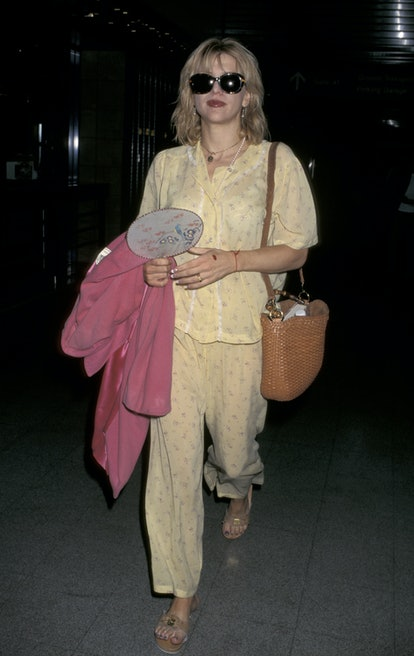 Courtney Love during Courtney Love at Los Angeles International Airport at Los Angeles International...