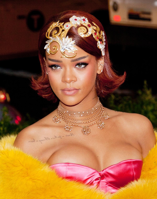 Rihanna at the 2015 Costume Institute Benefit Gala, Met Gala