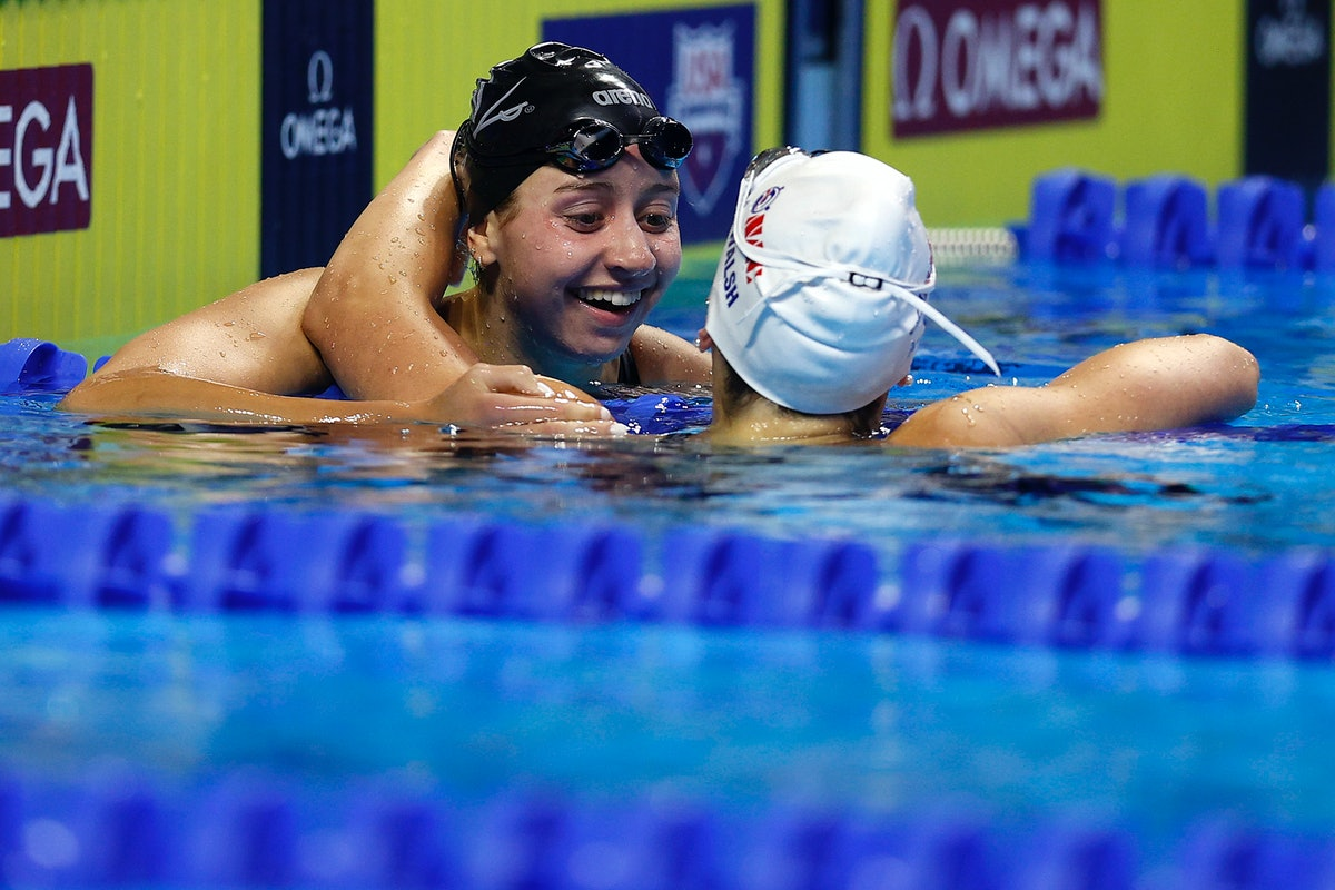 Kate Douglass is on the 2021 U.S. Olympic Swim Team