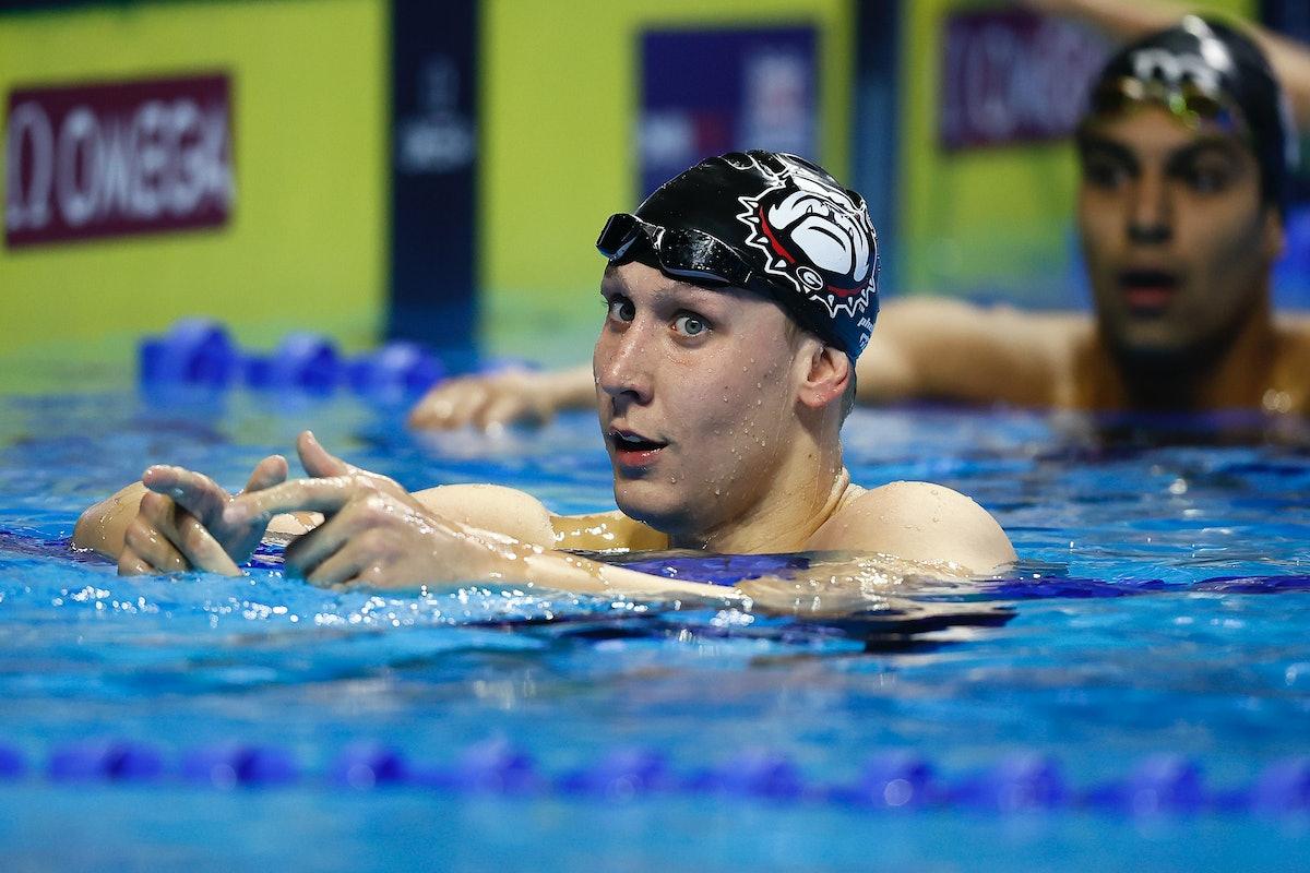 Chase Kalisz is on the 2021 U.S. Olympic Swim Team