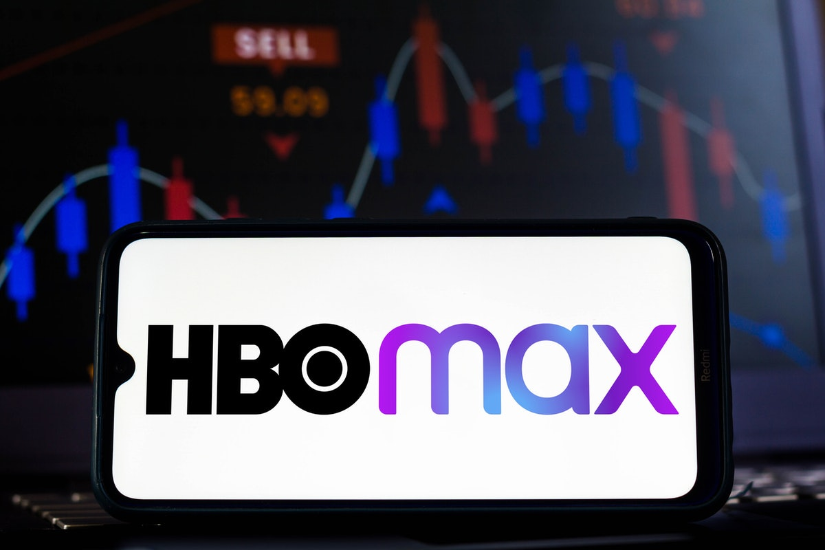 BRAZIL - 2021/02/12: In this photo illustration the HBO Max logo seen displayed on a smartphone scre...