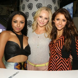 The 'Vampire Diaries' ending, explained.  (Photo by Chris Frawley/WBTV via Getty Images)