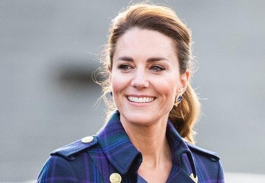 EDINBURH, SCOTLAND - MAY 26: Catherine, Duchess of Cambridge arrives to host NHS Charities Together ...