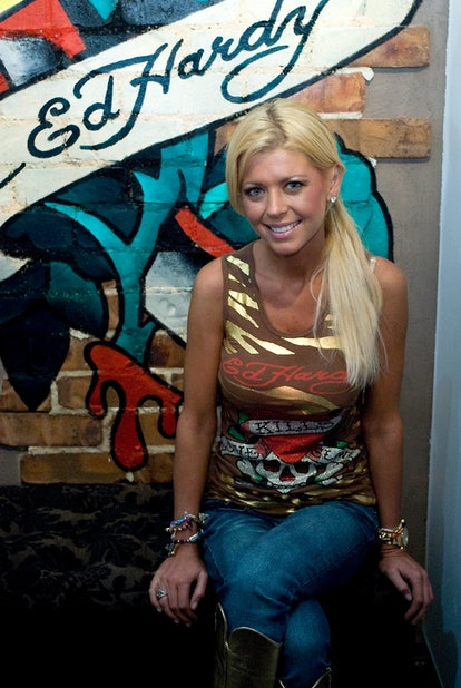GOLD COAST, AUSTRALIA - DECEMBER 12: Tara Reid attends the launch of the 'ED HARDY' boutique store o...