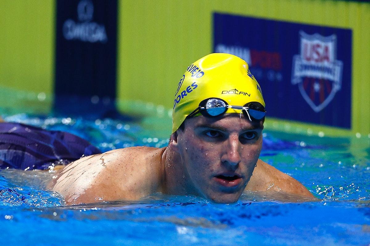 Zach Apple is on the 2021 U.S. Olympic Swim Team