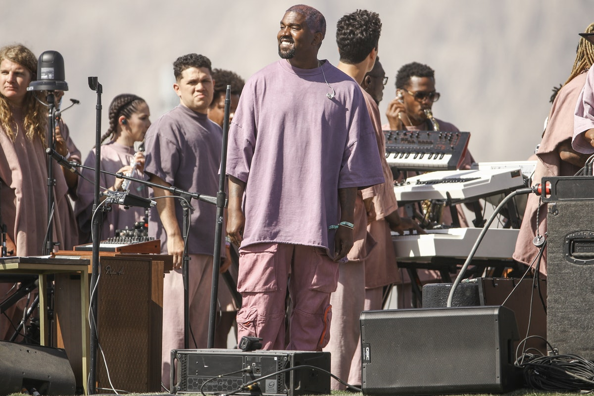 Kanye West, shown here performing at Coachella, is releasing a new album on July 23.