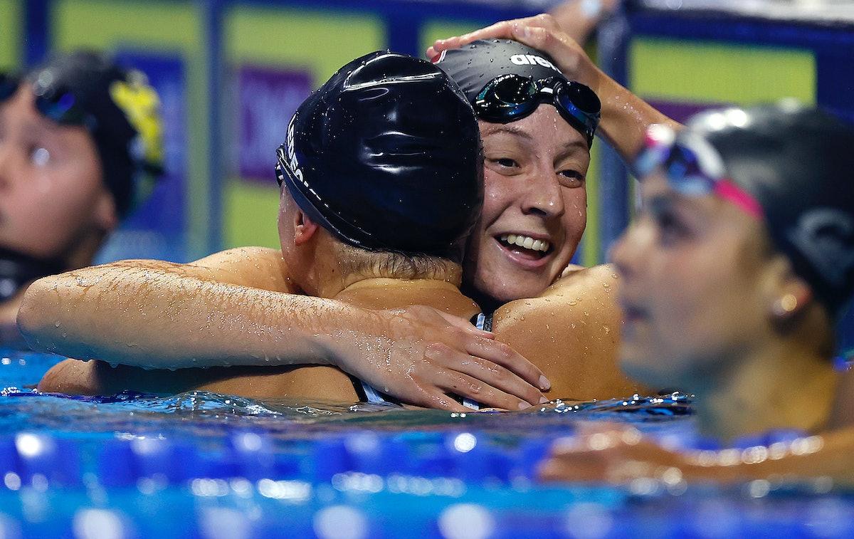 Brooke Forde is on the 2021 U.S. Olympic Swim Team