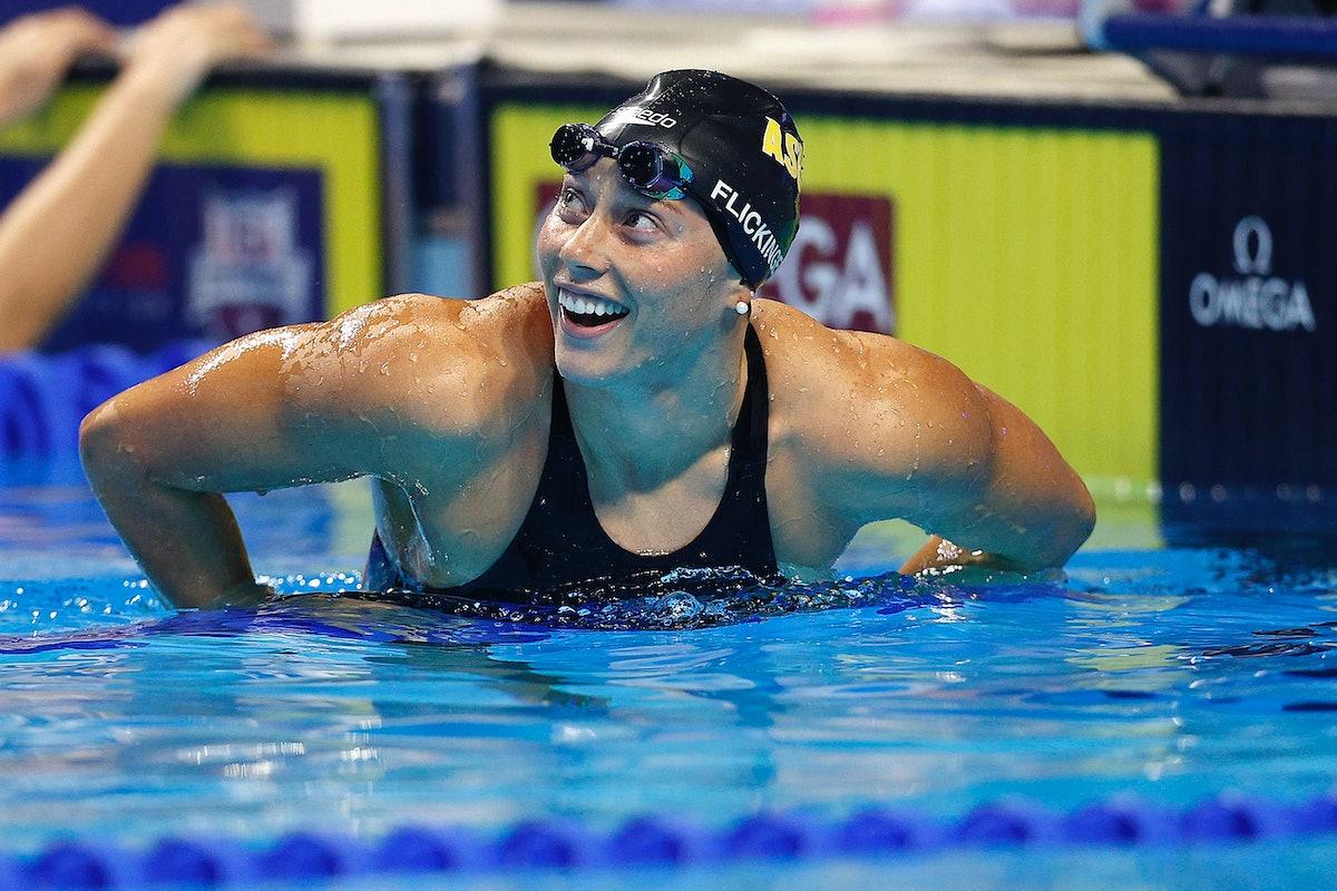 Hali Flickinger is on the 2021 U.S. Olympic Swim Team