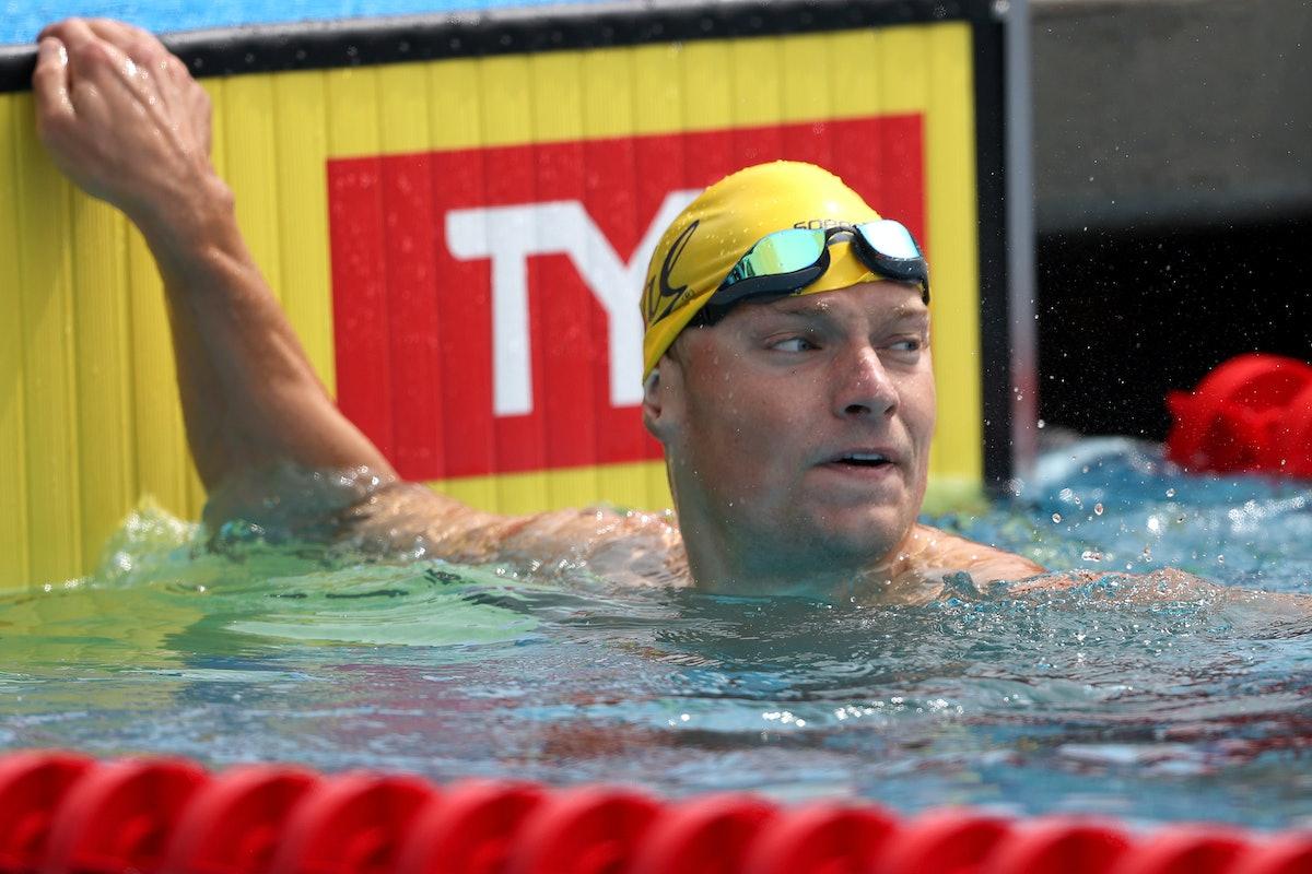 Andrew Seliskar is on the 2021 U.S. Olympic Swim Team
