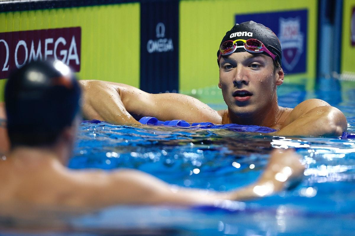Drew Kibler is on the 2021 U.S. Olympic Swim Team