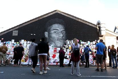 Marcus Rashford Mural Manchester
