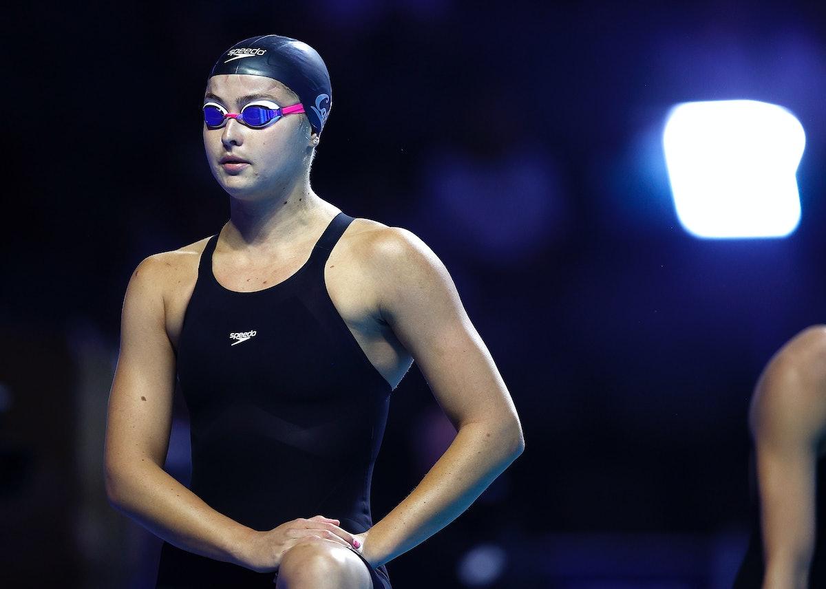 Katie McLaughlin is on the 2021 U.S. Olympic Swim Team