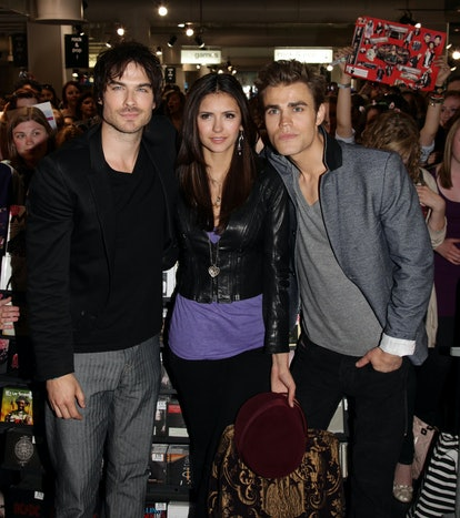 'The Vampire Diaries' finale, explained.  (Photo by Yui Mok/PA Images via Getty Images)