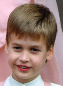 UNITED KINGDOM - OCTOBER 08:  Prince William, Pageboy At The Society Wedding Of Miss Camilla Dunne T...