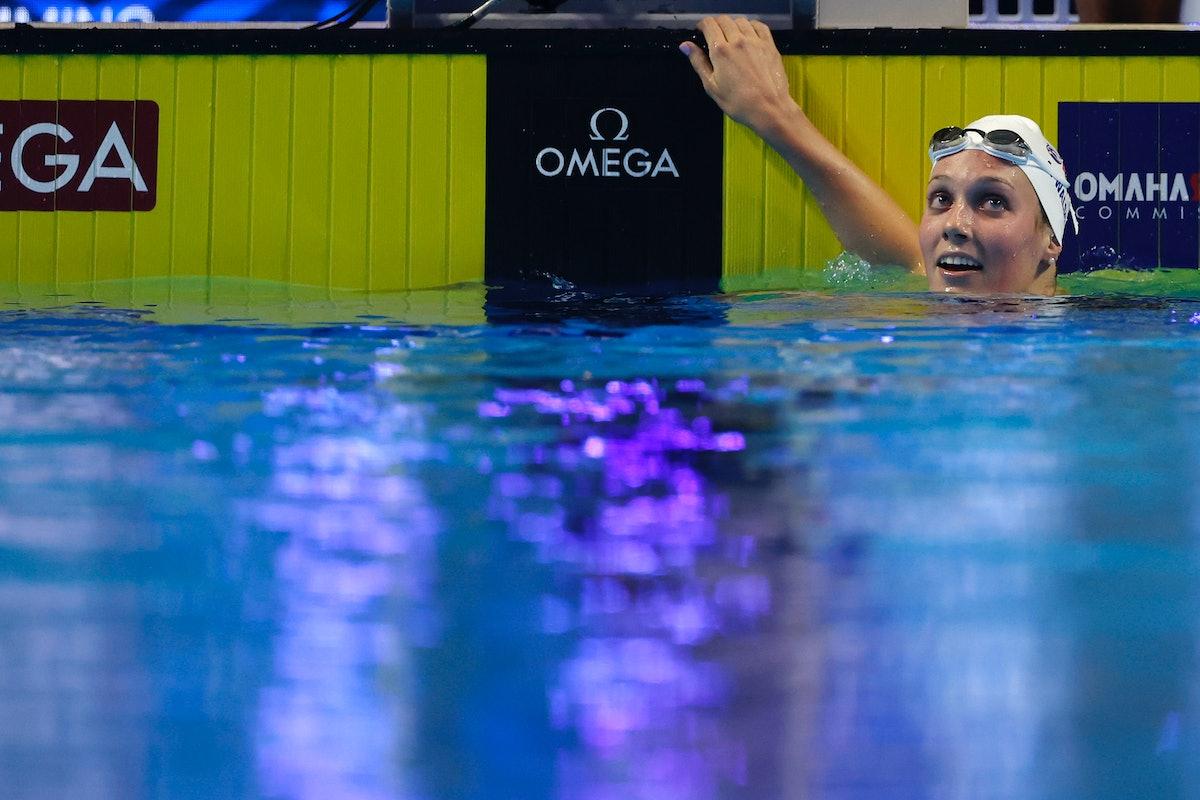 Alex Walsh is on the 2021 U.S. Olympic Swim Team