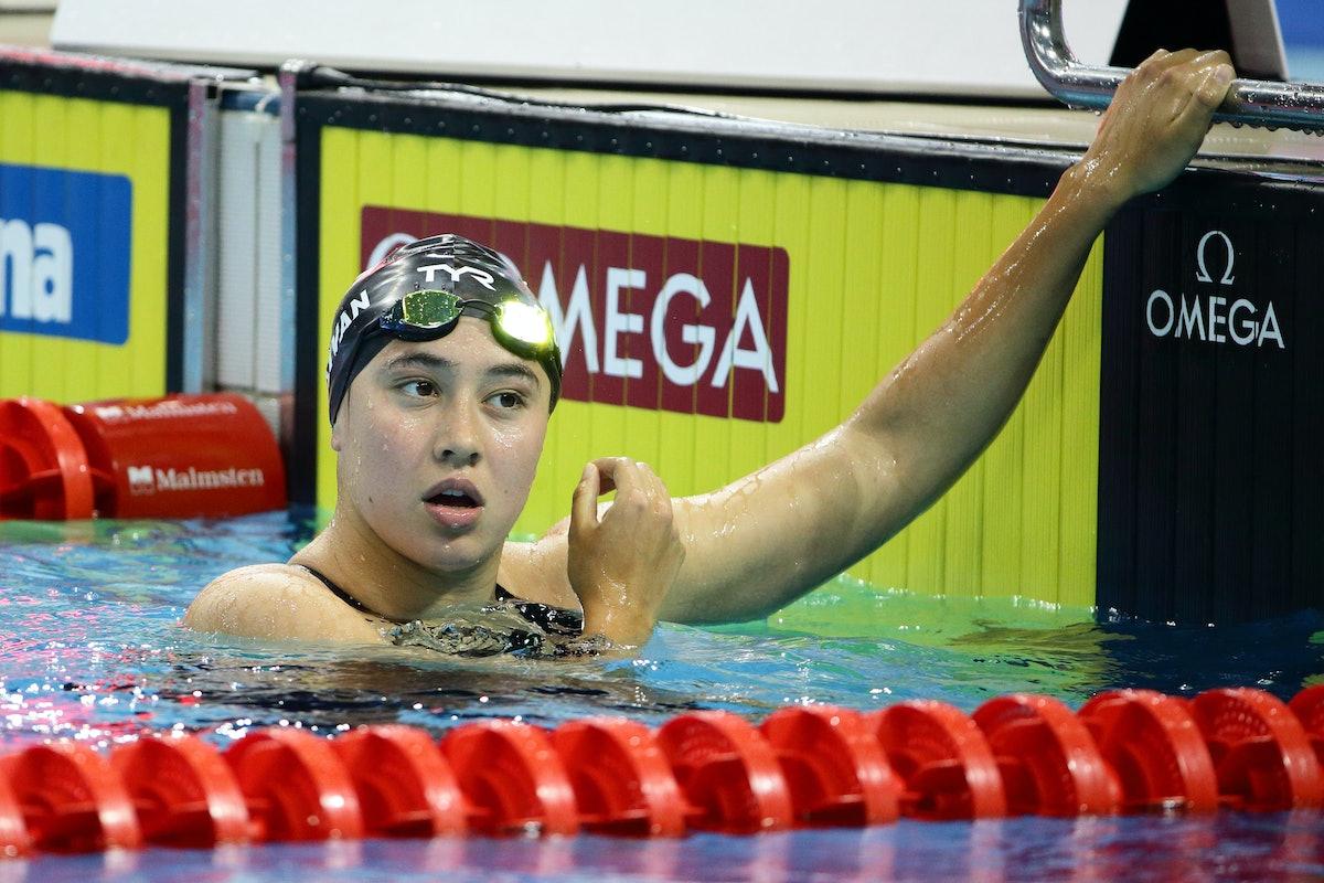 Erica Sullivan is on the 2021 U.S. Olympic Swim Team