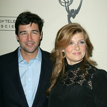 """NORTH HOLLYWOOD, CA - JANUARY 31:  Actor Kyle Chandler and actress Connie Britton at """"An Evening wit..."""