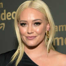 Hilary Duff's green hair has made a reappearance — and this time, it wasn't intentional.