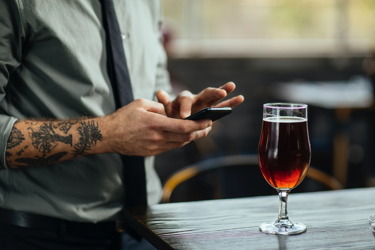 My ex unfollowed me and drunk-texted me — two signs he's not over me.