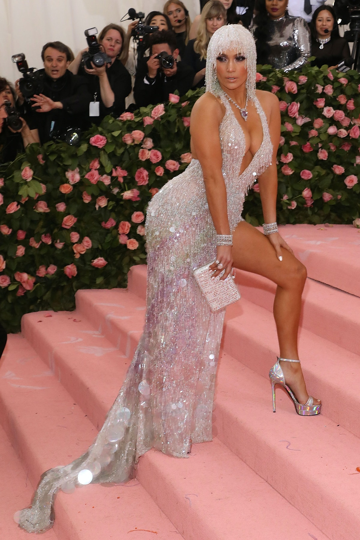 Jennifer Lopez attends the 2019 Met Gala in New York City in May 2019.