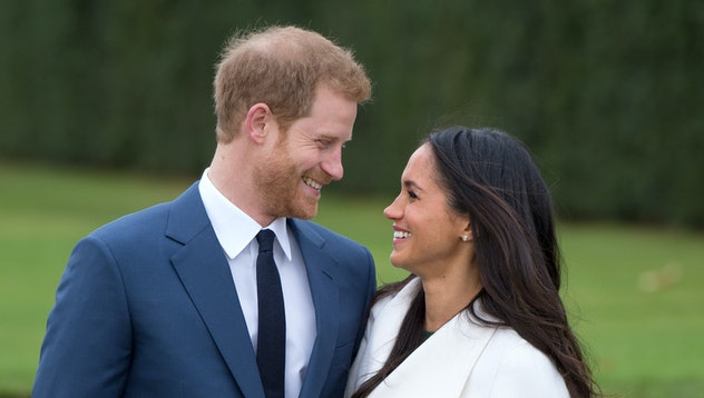 Prince Harry and Meghan Markle got engaged in 2017.