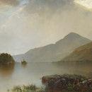 Lake George, 1869. Artist John Frederick Kensett. (Photo by Heritage Art/Heritage Images via Getty I...
