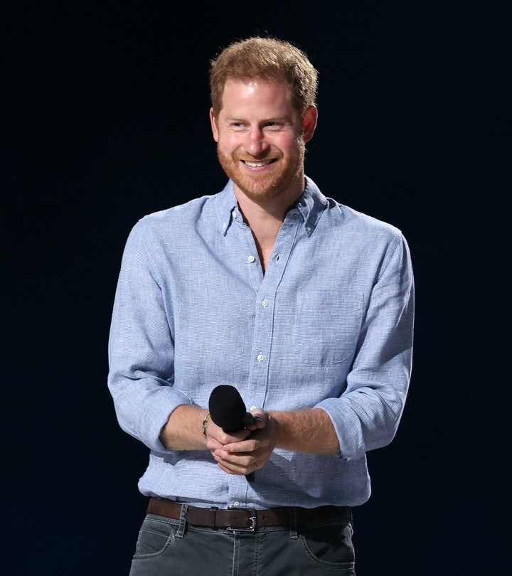 Prince Harry is so photogenic and happy.